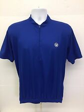 Canari Endurance Cycling Jersey Royal Blue Short Sleeves 3 Pockets Mens Large