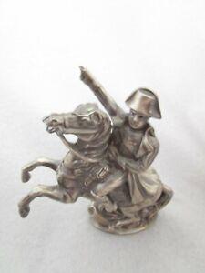 Metal Napoleon Bonaparte On Horse Statue