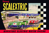 Scalextric 1962 Catalogue Cover Large A3 Size Poster Advert Sign Leaflet  great!