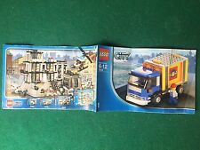 (Q13) LEGO CITY 7994/1 CATALOGO MONTAGGIO CAMION VEICOLO Brochure KATALOG