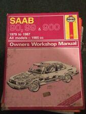 HAYNES WORKSHOP MANUAL No 765 .1979-1987 ,SAAB 90,99 AND 900