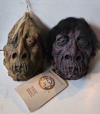 2013 Don Post VXX-FX Jivaro Shrunken Head Mini Monster Halloween Mask Decoration