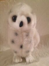"10"" Aurora Busch Gardens Plush Stuffed White Spotted Owl Toy"