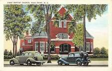 High Point North Carolina First Baptist Church Linen Antique Postcard K14566