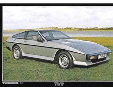 TVR TASMIN + 2  SALES 'BROCHURE'/SHEET  1980 1981