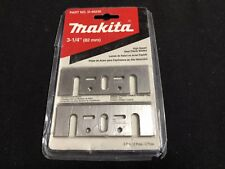 "Makita D-46230 3-1/4"" High Speed Steel Planer Blades Factory Sealed"