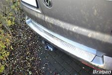 Para adaptarse a 04-15 VOLKSWAGEN VW TRANSPORTER T5 nuevo parachoques posterior de acero Protector de paso