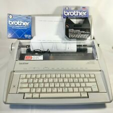 Brother Correctronic GX-6750 Daisy Wheel Electronic Typewriter - Good, Tested.