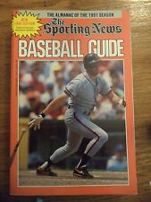 1992 SPORTING NEWS BASEBALL GUIDE WILL CLARK SAN FRANCISCO GIANTS