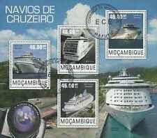 Timbres Bateaux Mozambique 6331/4 o année 2014 lot 19326 - cote : 17 €