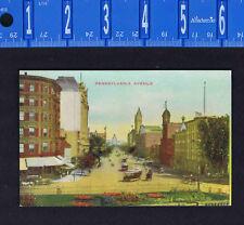 Pennsylvania Avenue, Washington, DC-   Postcard - B. S. Reynolds