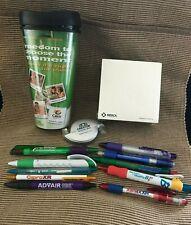 Lot Drug Rep Items Cialis Travel Mug Pens Paper Merck Crestor Viagra Xanax #1