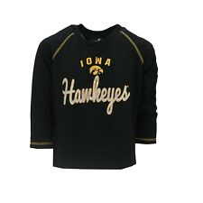 Iowa Hawkeyes Official Ncaa Kids Youth Girls Size Long Sleeve Shirt New Tags