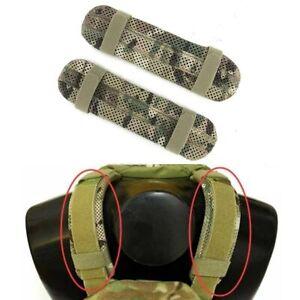 1 Pair Tactical Plate Carrier Shoulder Pad Set Multicam Tactical Shoulder Pads