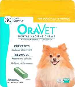 Merial Oravet Dental Hygiene Chew For X-Small Dogs (3.5-9Lbs Lbs), Dental Treat