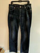 Escada Sport  Womens Boot Cut Jeans Blue Denim Size 46 34 Made in Tunisia EUC