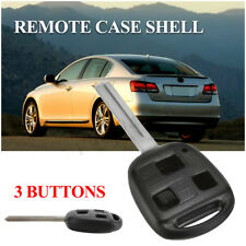 3 BUTTON REMOTE KEY SHELL CASE FOB FOR LEXUS GX470 IS300 GS300 GS430 RX330 AU