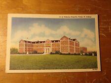Vintage Postcard U.S. Veterans Hospital, Fargo, N. Dakota