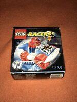 LEGO RACERS - 1239 - SUBZERO - BRAND NEW, FACTORY SEALED BOX.