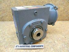 "Boston Gear  30:1 ratio  speed reducer 1"" hollow   HF72630SVB5HP16"