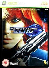 Xbox 360 Perfect Dark Zero Limited Collector's  Edition steel case -