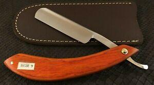 Handmade Straight Razor-Cut Throat-French Point-Smiley Razor-BGR9