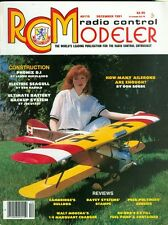 1991 RC Modeler Magazine: Phonix D.I/Electric Seagull/Battery Backup/Ailerons