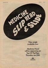 Medicine Head UK TV advert 1974