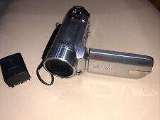 Canon FS100 Silver & Grey Digital Zoom Camcorder (untested)