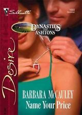 Name Your Price (Harlequin Desire) by McCauley, Barbara