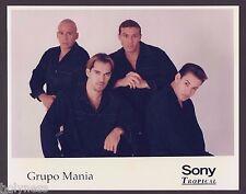 VINTAGE PRESS PHOTO / GRUPO MANIA / PUERTO RICO / 1990's / #2