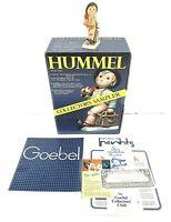 "Hummel Goebel ""Merry Wanderer"" Figurine 11 2/0 Boy w/ Suitcase & Umbrella w/Box"