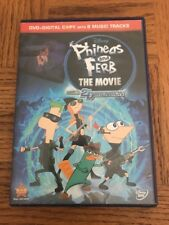 Phineas And Ferb The Movie DVD