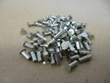 "MS9318-100 , 1/8"" X 5/16"" MONEL 400 AIRCRAFT COUNTERSUNK SOLID RIVETS 100 Pcs"