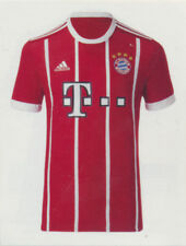BAM1718 - Sticker 14 - Trikot Home - Panini FC Bayern München 2017/18