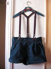 Short à bretelles taille haute «Zara» T: S