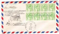 US DIRIGIBLE(Zeppelin ZRS-5) U.S.S. MACON *Ullmann#1/6/34-1*BAKERSFIELD CAL JAN