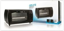 COMPACT MINI ELECTRIC OVEN AZURA  AZ-TO9L TOASTER 1000W TIMER 9 LT FOOD WARMER