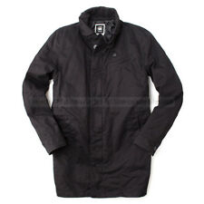 G-STAR RAW CORRECT GARBER JACKET TRENCH COAT BERKSHIRE TWILL  BLACK XL /X-LARGE
