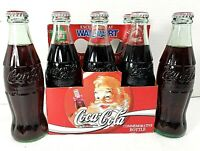 Christmas Bottles Coca Cola Coke Classic 6 Pack 1994 Commemorative Full Unopened