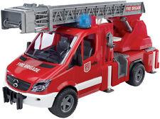 Bruder Brd02532 Mercedes Benz SPRINTER Autopompa Pompieri con Luci e Suoni