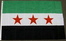 SYRIA FLAG 3X5 FEET SYRIAN REPUBLIC BANNER NEW F539