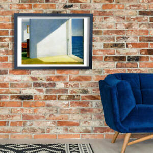 Edward Hopper Rooms by the Sea Giclee Wall Art Poster Print