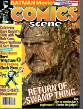 Comics Scene Magazine #7 Swamp Thing Cover Awesome Condition
