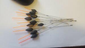 KC Carpa belter pole floats (used) coarse / match fishing