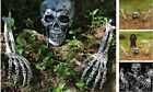 Halloween Decorations Skeleton Stakes, Realistic Looking Yard Lawn Stakes,