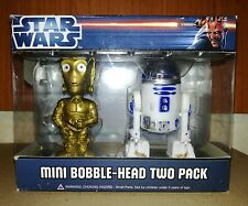 Funko Pop Star Wars Rare Mini Bobble-Head two pack C-3PO and R2-D2