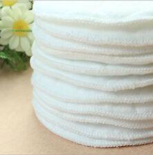 10pcs Bamboo Reusable Breast Pads   Nursing Maternity Organic Plain Washable ME