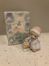 Precious Moments Retired Sugar Town Heather 272833 Girl with Books mint in box