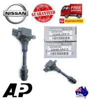 6 x GENUINE IGNITION COIL PACK OVER PLUG FOR NISSAN PATROL GU TB48DE 4.8L 01-07